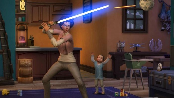 sims 4 star wars lightsaber Journey to Batuu Game Pack Discount Cyber Monday