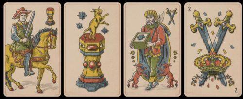 red dead tarot cards