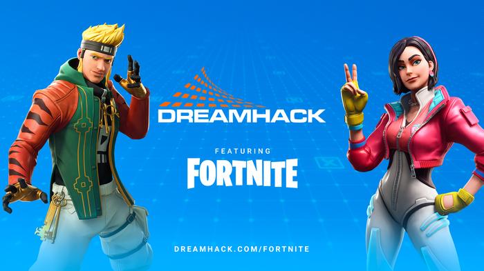 Fortnite DremHack advert