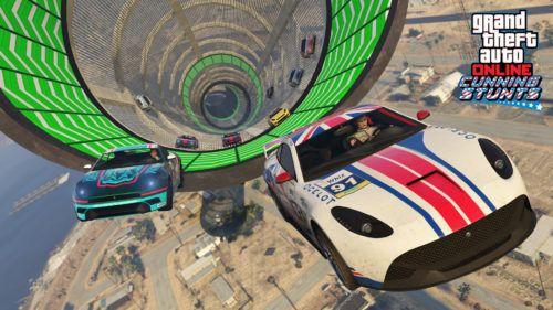 gta online cunning stunts racing open wheel