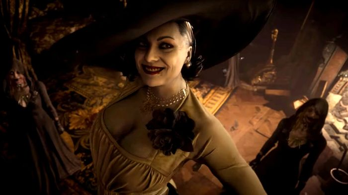 State Of Play Predictions Resident Evil 8 Village Lady Dimitrescu Tall Vampire