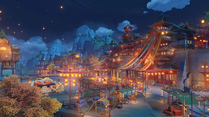 LIGHT UP THE NIGHT -- Genshin Impact's Lantern Rite festival will be beautiful