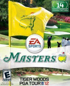 masters tiger woods pga tour 2012