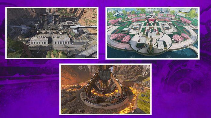 Apex Legends Arena Mode Battle Royale Maps