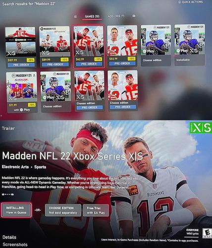 Madden 22 trial download Xbox