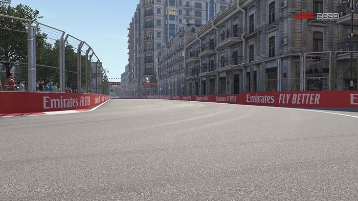 Azerbaijan GP Baku Street Circuit Turns 3 4