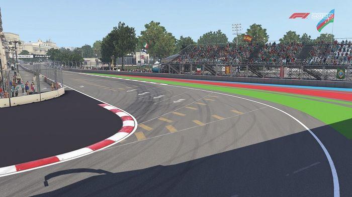 Azerbaijan GP Baku Street Circuit Turn 16