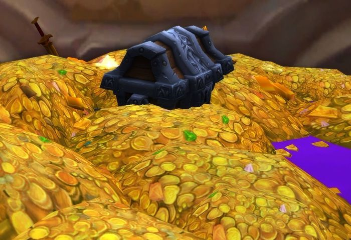 WoW Classic TBC gold pile