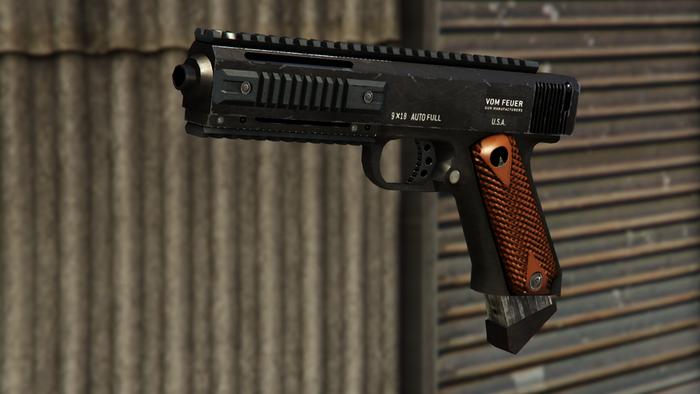 GTA Online Best Weapons AP Pistol