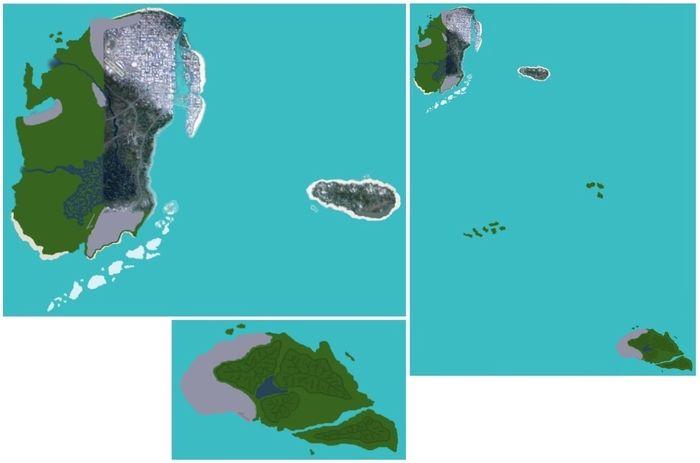 GTA 6 Map 1st Leak 4chan