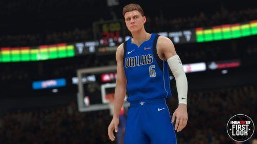 NBA 2K21 Kristaps Porzingis 2K19