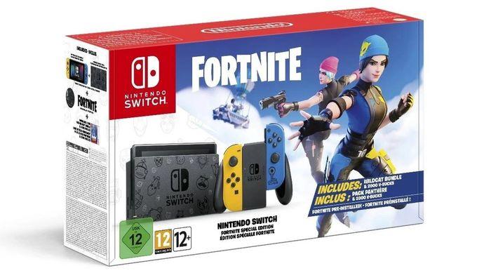 Fortnite Wildcat Nintendo Switch Bundle