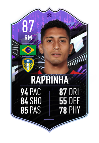 raphinha leeds fifa 21 ultimate team what if