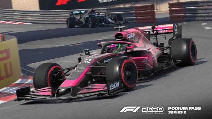 The multiplayer car in F1 2020