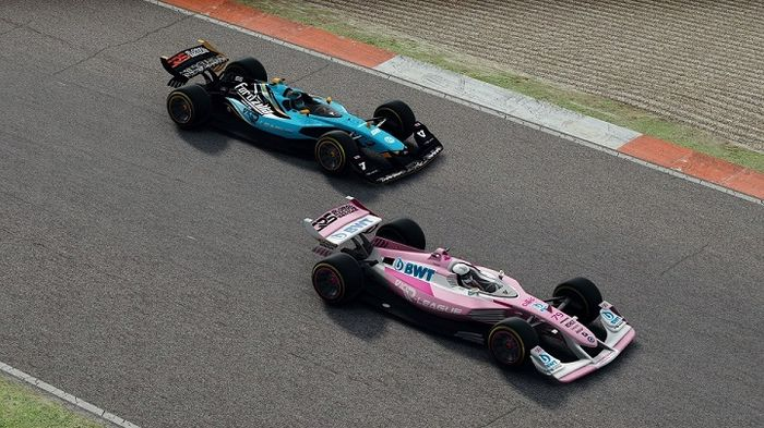 Fordzilla Racing Point Vallenlunga Round 4 V10 R-League