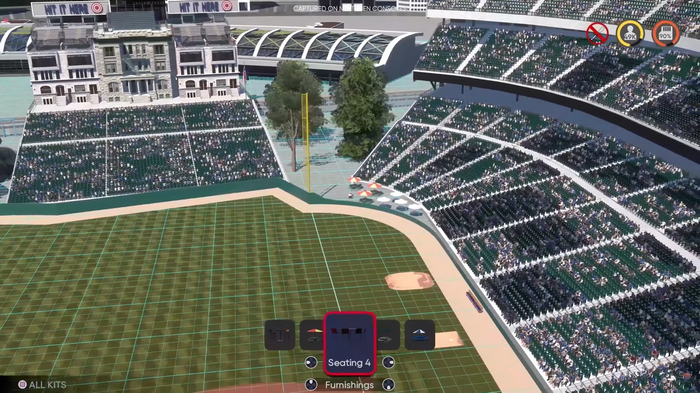 MLB The Show 21 Diamond Dynasty Stadium Creator