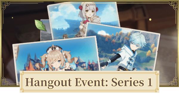 Genshin Impact: Hangout Event