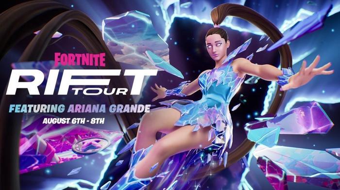 Fortnite Ariana Grande Skin The Rift Tour