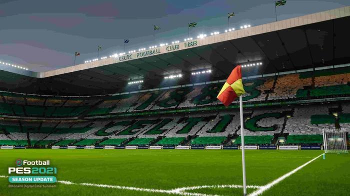 celtic park pes 2021 1