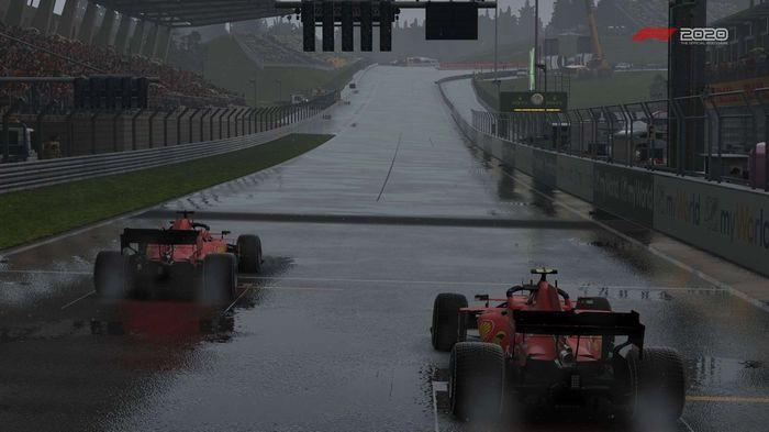 F1 2020 Austria Wet Ferrari