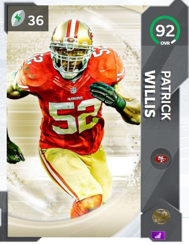 patrick willis the 50 mut
