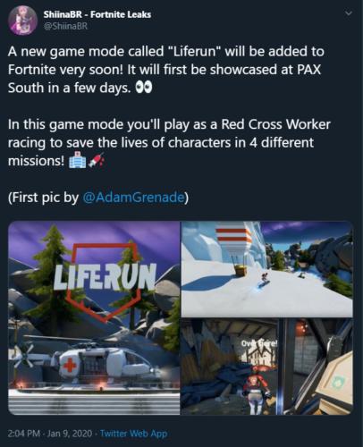 Fortnite season 12 game mode leak