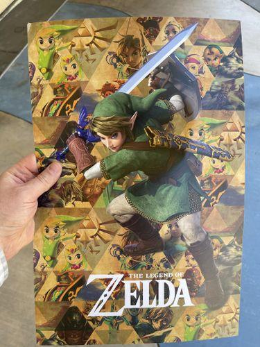 Legend Of Zelda collection e3 2021 leak