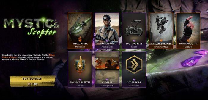 Unlock Mace melee Weapon Black Ops Cold War