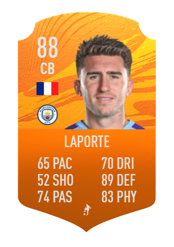 aymeric laporte fifa 21 man of the match concept