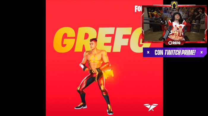 TheGrefg Fortnite Icon Skin Reveal Emote Twitch