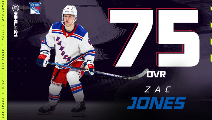 NHL 21 Zac Jones Roster Update May 5