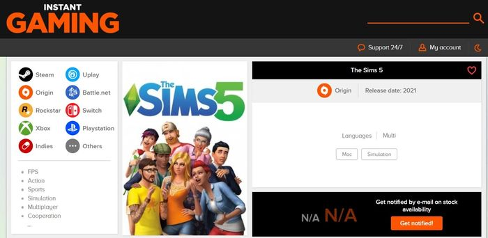 The Sims 5 Release Date Leaked