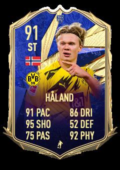 BEAST! Here's what we imagine Haaland's TOTY card would look like!