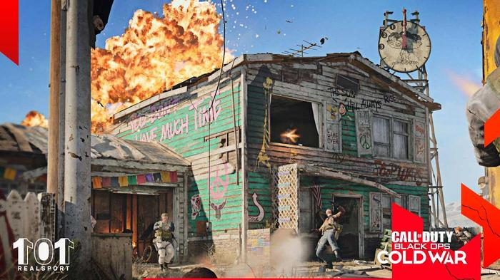 EXPLORE! The revamped Nuketown map is now available