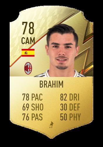 FIFA 22 Brahim Diaz