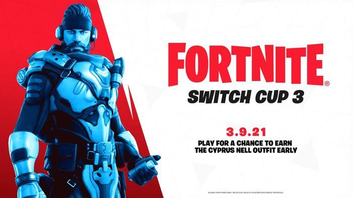 Fortnite Switch Cup 3 Key Art