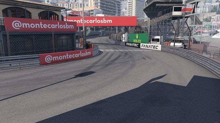 Monaco GP Turn 17 La Rascasse
