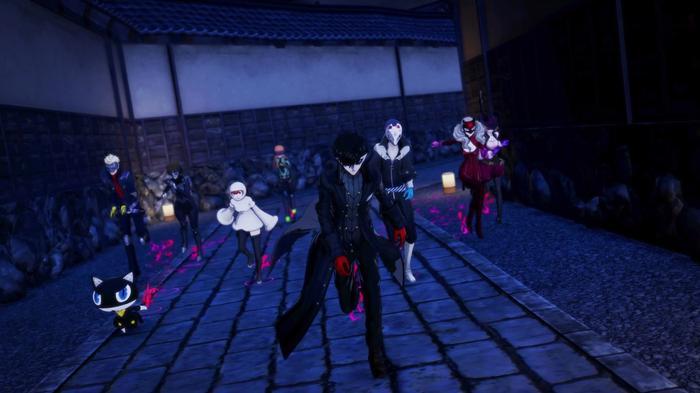 Persona 5 Strikers Early Access Joker Phantom Thieves