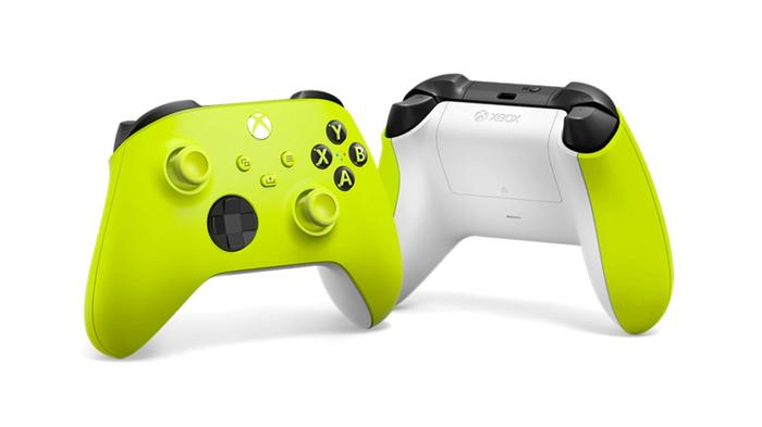 New Xbox Wireless Controller Colors Electric Volt