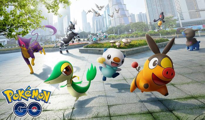 Pokemon Go promotional key art