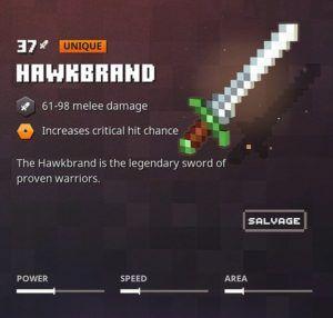 minecraft dungeons hawkbrand small