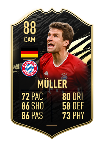 FUTURE ICON! Muller will surely be added to the ICON roster