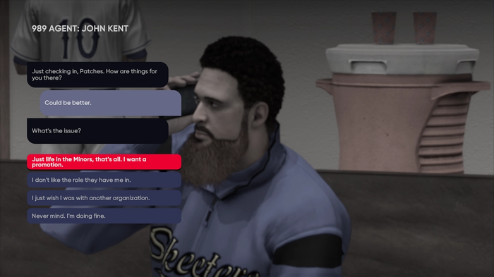 MLB The Show 21 How to ask for a trade Road to the Show RTTS