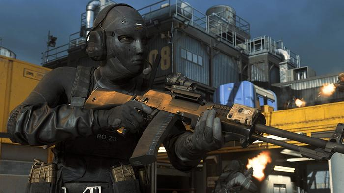 Call of Duty Warzone assault rifles lmgs masked operator