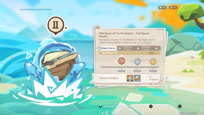 Genshin Impact Whirlpool off to Starboard… Full Speed Ahead! screenshot