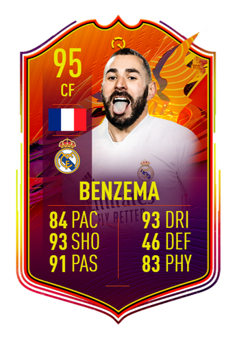 karim benzema fifa 21 ultimate team headliners concept