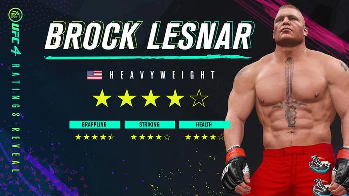 Brock Lesnar UFC 4 2