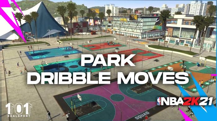 NBA 2K21 Park Dribble Moves Handles