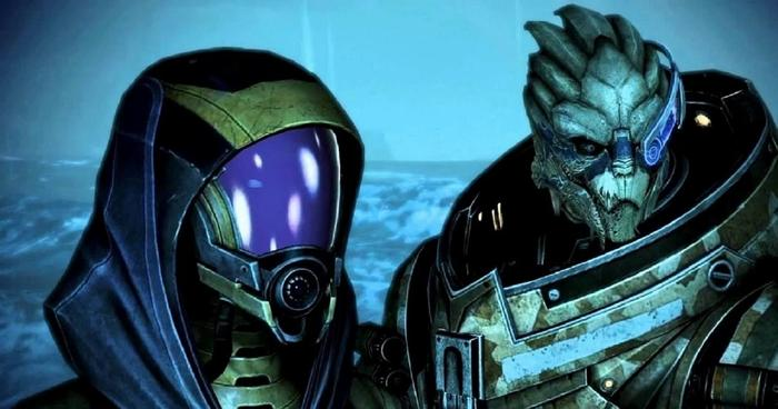 Mass Effect Legendary Edition File Size Download Garrus and Tali