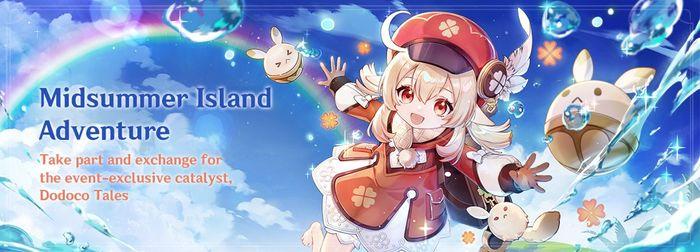 Genshin Impact Midsummer Island Adventure
